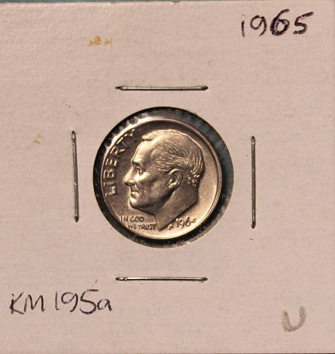 1965 P Roosevelt Dime