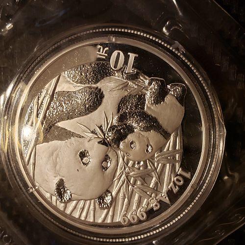2005 Chinese Silver Panda