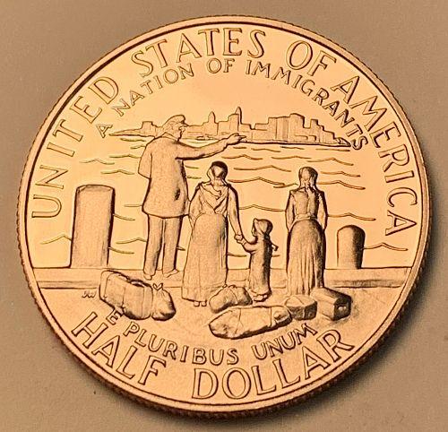 1986-S Proof Statue of Liberty Commemorative Half Dollar [COM 30]