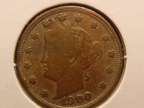 1900 P Liberty Nickels