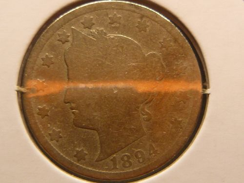 1894 P Liberty Nickels