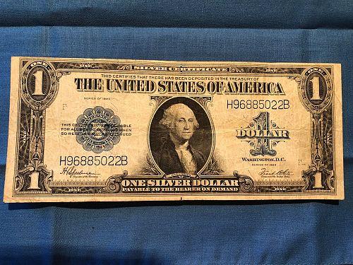 Silver Certificate U.S. 1923  $1