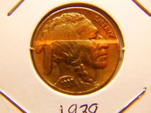 1938 D Buffalo Nickels