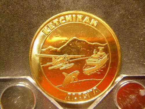 ALASKA STATEHOOD 1959 KETCHIKAN PROTOTYPE TOKEN