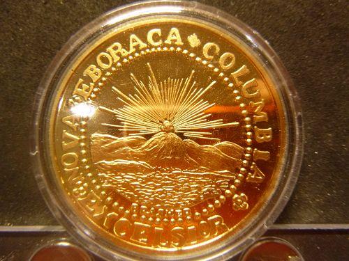 NOVA EBORACA COLUMBIA EXCELSIOR 1787 UNUM E PLURIBUS MEDAL