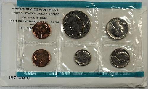 1971 PDS US Mint Set