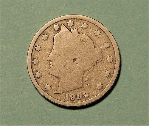 1909 Liberty V Nickel