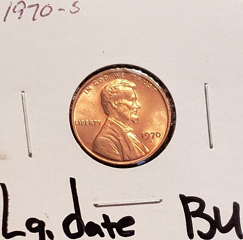 1970-S Lincoln Memorial Cent