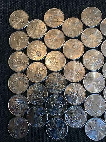 1999-2008 P Uncirculated 50 State Commemorative Quarter Set (0517-1)