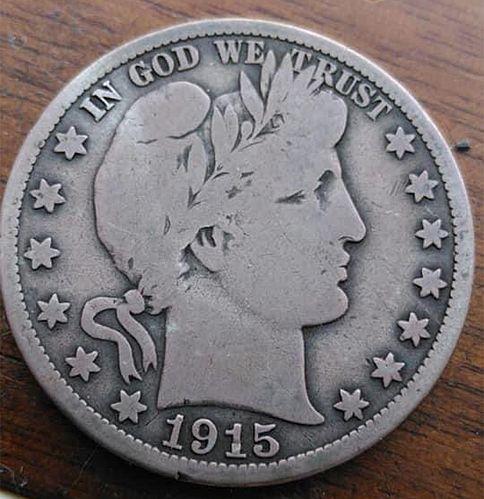 1915 S Barber Half Dollars. 2621