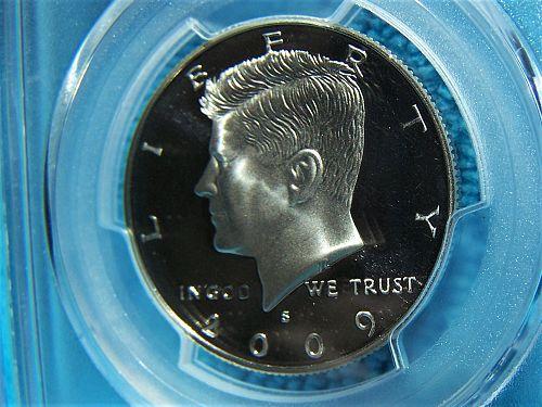 2009-S Kennedy Half Dollar PCGS PR70DCAM
