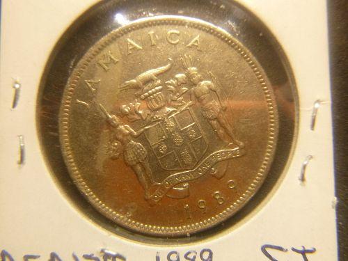 JAMAICA 1989 25 CENTS