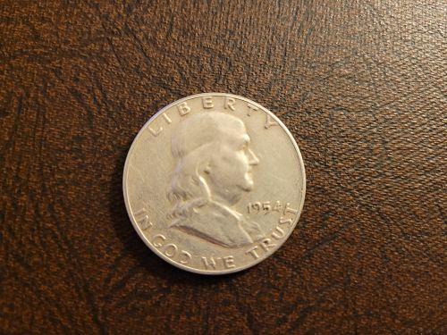 1954 Franklin Half Dollar