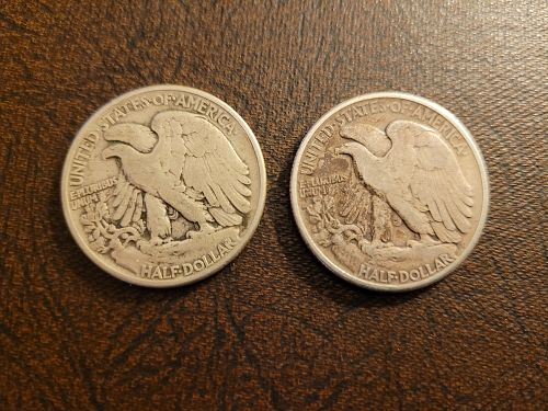 ONE (1) 1945 Walking Liberty Half Dollar