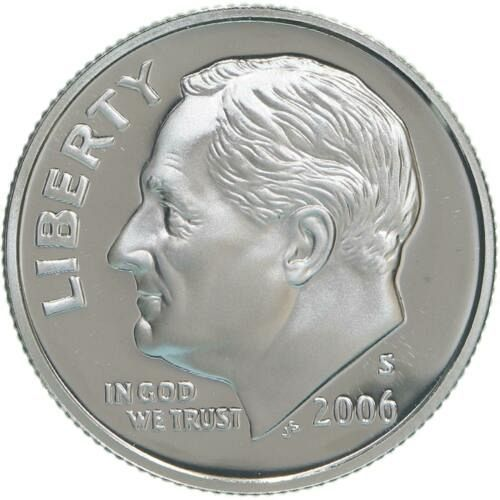 2006 S  SILVER PROOF ROOSEVELT DIME