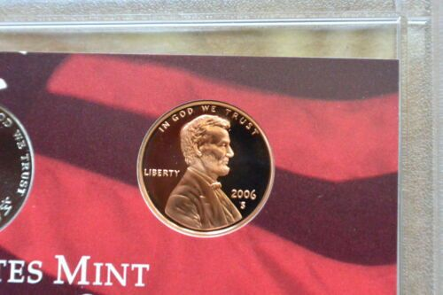 2006 S  PROOF LINCOLN CENT