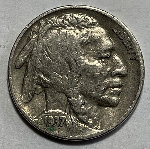 1937 Buffalo Nickels Indian Head Nickel.  11541