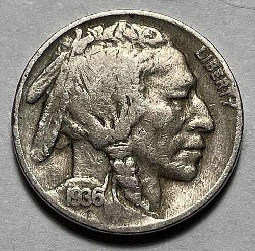 1936 Buffalo Nickels Indian Head Nickel  11543