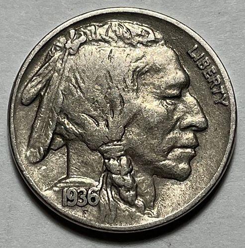 1936 Buffalo Nickels Indian Head Nickel  11551
