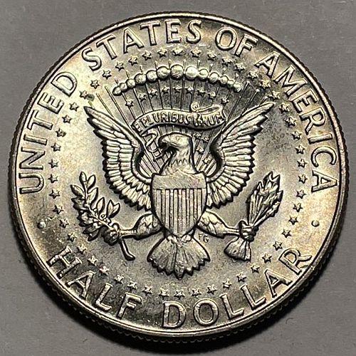 1967 Kennedy Half Dollars.  3713