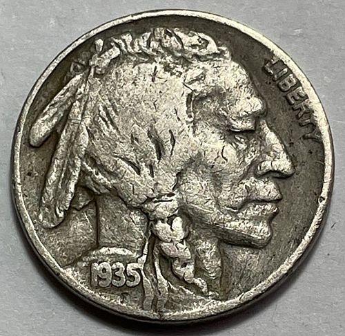 1935 Buffalo Nickels Indian Head Nickel  3723