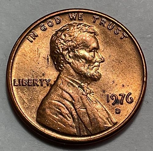 1976 D Lincoln Memorial Cent.  3724