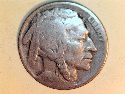 1925 S Buffalo Nickel--G-VG (price dropped 8/16/21)