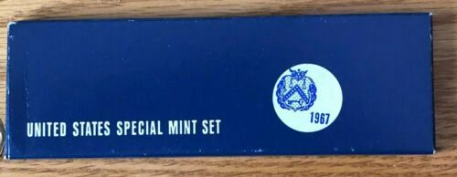 1967 S Uncirculated Mint Sets: SMS (Special Mint Sets)