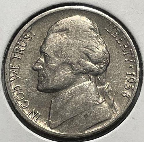 1938 S Jefferson Nickels. 3733