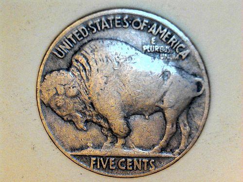 1913 P Type 2 Buffalo Nickel--F-VF (price drop 7/2)