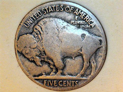 1916 P Buffalo Nickel--G-VG