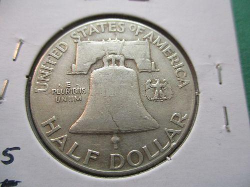 1948  F12 Franklin Half Dollar.  Item: 50 F48-07.