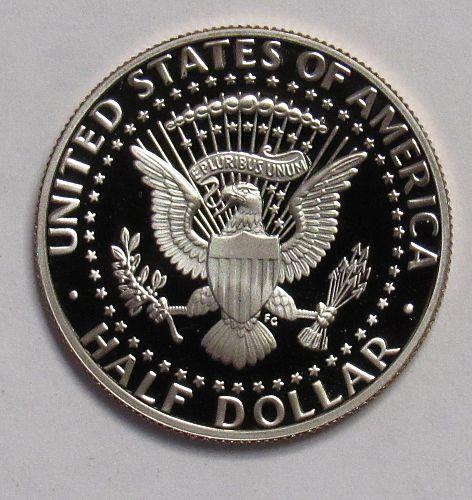 1995 S Proof Kennedy Half Dollar