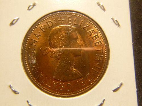 GREAT BRITAIN 1967 ONE PENNY