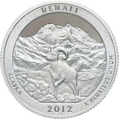 2012  S SILVER  PROOF DENAII   WASHINGTON QUARTER