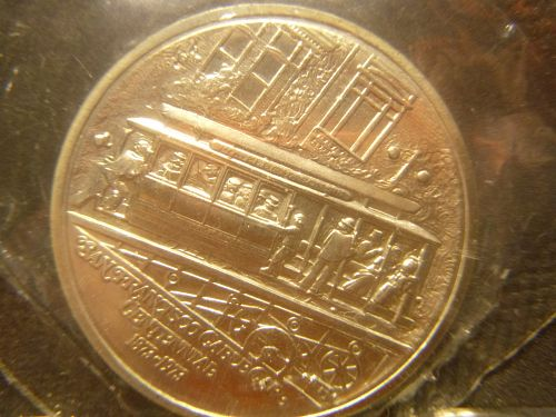 SAN FRANCISCO CABLE CAR 1873-1973 1973-S COMMEMORATIVE
