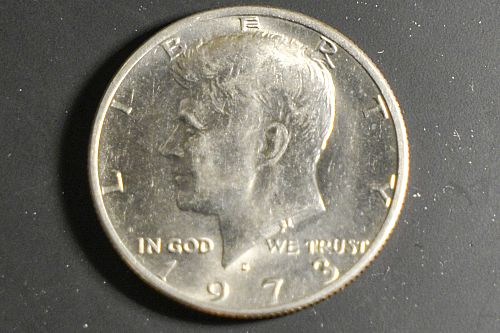1973-D Mint Kennedy Half Dollar