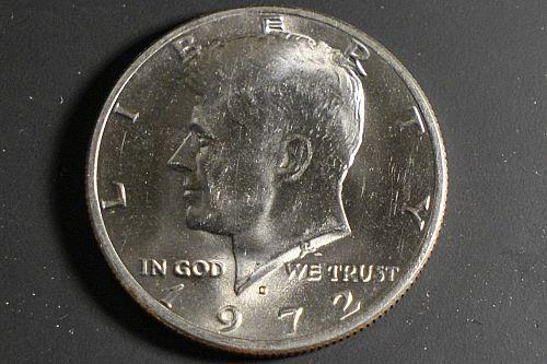 1972-D Mint Kennedy Half Dollar