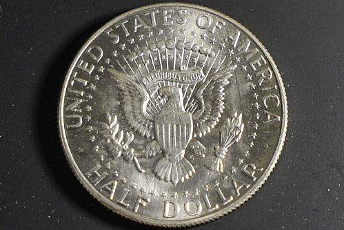 1967-P Mint Silver Kennedy Half Dollar