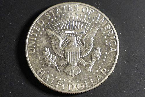 1966-P Mint Silver Kennedy Half Dollar