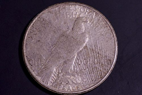 1922-S Extra Fine Silver Peace Dollar