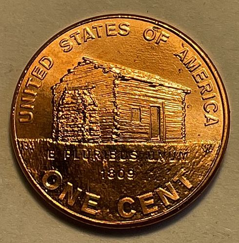 2009 D Lincoln Memorial Cent : Birth and Early Childhood Kentucky 3744
