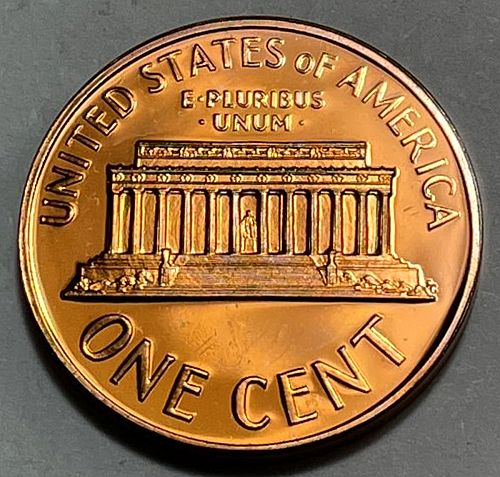 1962 Lincoln Memorial Cent Proof DCAM 3753