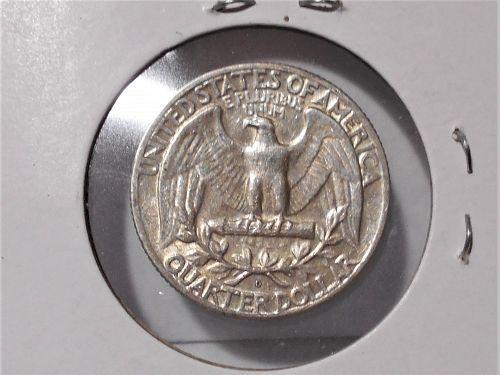 1964 D Washington quarter circulated
