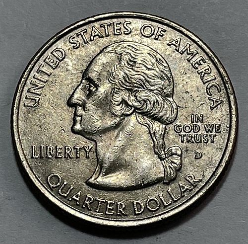 2005 D West Virginia 50 States. 3834