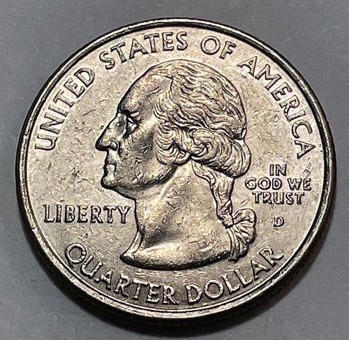 2005 D West Virginia 50 States. 3843