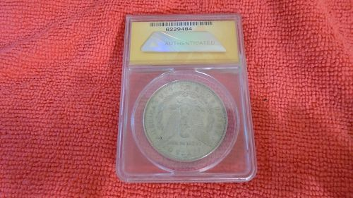 1878-S MORGAN SILVER DOLLAR AU 58 ITEM #009