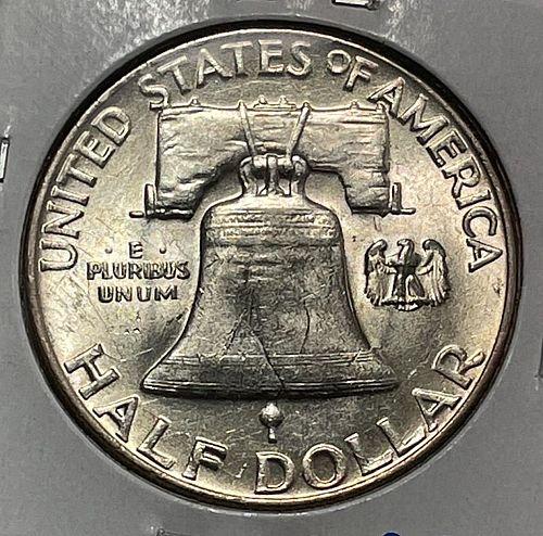 1959 Franklin Half Dollars.  3924