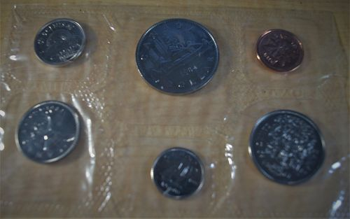 1984 Canada Mint Prooflike Uncirculated (6 coin) Set - FREE Shipping!!