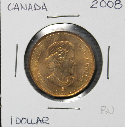 Canada 2008 dollar